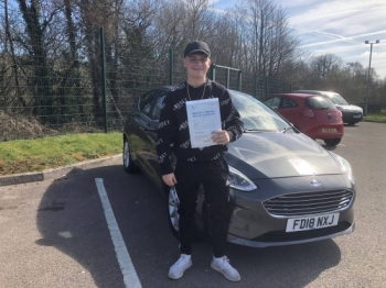 26.3.19 - Congratulations to Lewis Taylor on passing his driving test 1st time with our Glenn in Merthyr yesterday!!! Safe driving 🚗🚙