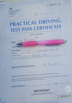 4517 - great driving instructor passed first time<br />