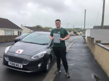 29.5.19 - Congratulations to Logan Lovell on passing his test today first time in Merthyr Tydfil with only 3 faults awesome result now time to enjoy