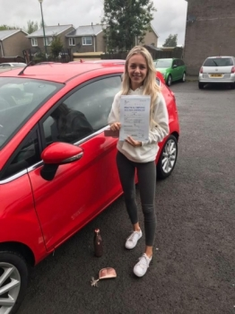 6.8.19 - A massive congratulations goes out to Lowan who passed her driving test today... you put in so much hard work and it paid off!! Well chuffed