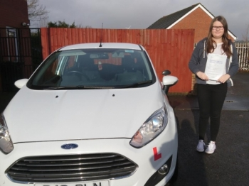 25118 - Congratulations to Lucy Dyer on passing her driving test this morning with only 3 minor faults Lovely result
