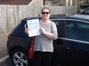 19315 - Congratulations to Lyn Reeves who passed her automatic driving test today in Merthyr Tydfil We are all super proud of how hard you worked for this Well done