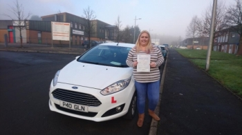 19117 - Congratulations to Lynsey James on passing her test this morning 1st time in Merthyr Tydfil Have fun car shopping :-