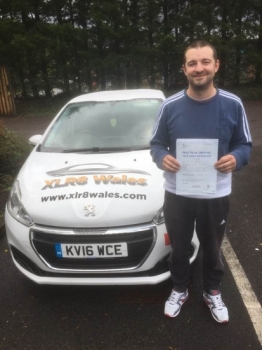 1.10.19 - Congratulations to Martin Bennett on passing his driving test today, 1st time with 3 minors in Merthyr with our Peter... Safe Driving 🚗🚦