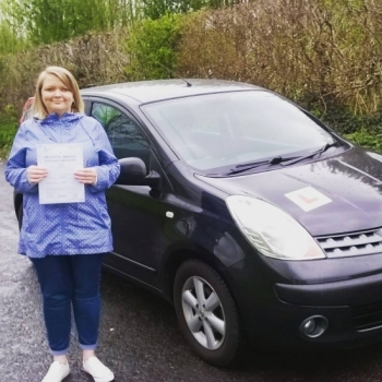 2242016 - Well done Mary on passing your automatic driving test today in Abergavenny and first time too