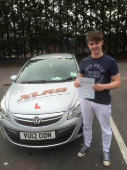 1532016 - Our first XLR8 Wales baby passes his test today in Merthyr Congratulations to our Peteracute;s Grandson Matthew Davies on nailing your driving test today