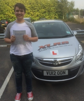 12915 - Another stunning result for our Peter A massive congratulations goes out to Michael Rees who passed his driving test yesterday in Merthyr Tydfil after taking up one of our 3 week semi intensive courses Michael passed 1st time with only 3 iddy biddy minor faults