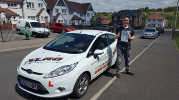16516 - Congratulations to Morgan on passing his driving test today in Merthyr Tydfil