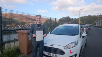 131015 - Congratulations to Nathan Walters on passing his test this morning in Merthyr Tydfil with only 5 faults nice result and we look forward to seeing you out in your Matiz :-