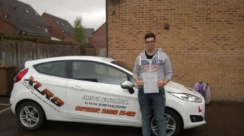 080514 A massive congratulations to Neil Krizam on passing his driving test today at Merthyr Tydfil first time with only 1 minor