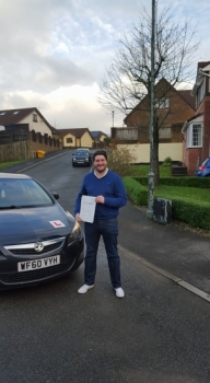 71215 - A massive well done to Nicolas Mathieson on passing his automatic driving test today with just 4 tiny minors after a 2 week semi intensive course Brilliant result topman 😆