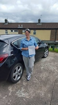 28715 - Brilliant result for Nina today passed her automatic driving test with just 3 tiny minors Well done Nina you worked really really hard for it and it is totally deserved :-