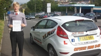 5814 - A massive congratulations goes out to Oliver Townsend who passed his driving test today in Abergavenny after only 26 hours of driving tuition and with only 3 minor faults Well done and good luck at either Oxford or Cambridge Whichever you choose