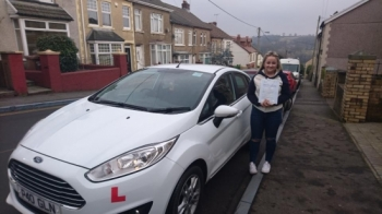 27117 - Congratulations to Olivia Vernall on passing her test this morning First time with only 4 faults looking forward to seeing you out on the road :-