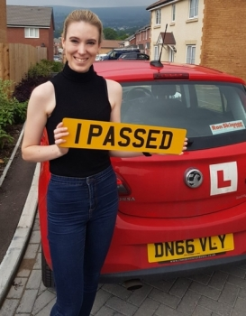 25.6.19 - Congratulations to Rachel Brenton on passing her driving test yesterday in Abergavenny!!!!! Well done and safe driving 👍🚗👍🚗