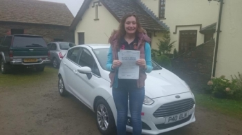 121115 - Congratulations to Rhiannon Bartlett on passing her test today first time with only one minor no more needing lifts down the lane now enjoy your freedom PS keep an eye out for the crazy cows in the lane :-