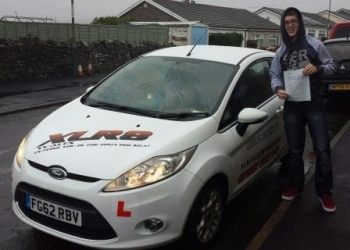 12115 - Well done to Rhys Warren for passing his driving test today in Merthyr Tydfil 1st time Enjoy driving your little mitsubishi