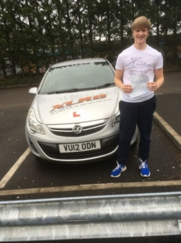 22217 - Well Done to Ryan Jones who passed his test in Merthyr Tydfil with our Peter with only 1 minor fault :-