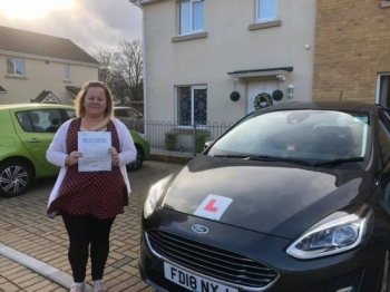 7/12/18 - Congratulations to Samantha Thomas on passing her test today in Merthyr Tydfil first time with only 4 faults lovely result time to relax and enjoy 😊