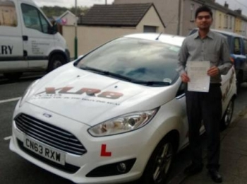 251013 - Congratulations to Santhosh Kalakoti on passing his test today good luck with the move and new job in London