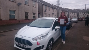 1942016 - Congratulations to Shannon Morris on passing her test today in Merthyr Tydfil looking forward to seeing you out and about