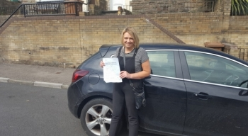 21716 - This time last year I was scared turning the key in the car But thanks to Rob patiently sticking by me making me grow more confident each lesson Iacute;ve passed 2day Yayyy thanks Rob<br />