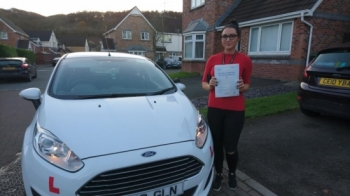 30112017 - Congratulations to Sophie Davies on passing her test today in Merthyr Tydfil with only 2 faults awesome result :-