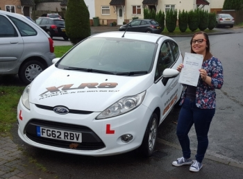271115 - An outstanding drive by Sophie who passed her test today with us after a few false starts elsewhere Sophie transferred over to us and nailed her test What a lovely and well deserved result even if you do have a new nickname by the examiner Barbie :-