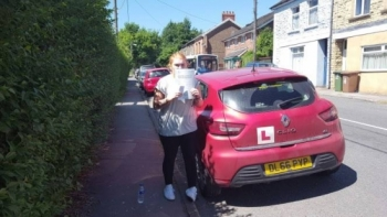 27.6.18 - A massive well done to Sophie Petherick on passing her automatic driving test today 1st time with just 4 tiny minors! Well done ... really proud