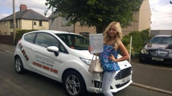18714 - A Big congratulations goes out to Tammy Sloman for passing her driving test today at Merthyr Tydfil 1st time Knew you could do it