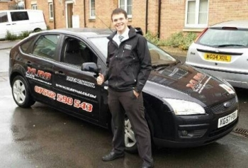 91113 - Congratulations to Travis who passed his Automatic Driving Test 1st time today after 12 hours of training