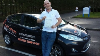 922014 - A massive congratulations goes out to Wayne Williams who passed his driving test in Pontypridd with XLR8 Wales Driving School 1st time and after only 10 hours Another great result