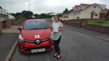 24.8.18 - Massive well done to Zeta Willaims who passed her automatic driving test with just 3 little minors after doing a semi-intensive course with Rob... so proud of you