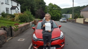 4.9.18 - Yet another fantastic result this week A massive well done to Zoe who passed her automatic test today after doing a semi-intensive course with Rob Brilliant work Zoe well deserved